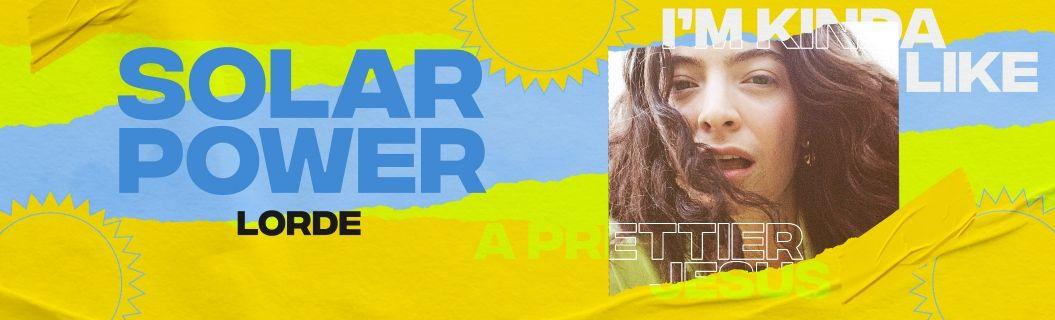 "Lorde lançou clipe de ""Solar Power"". Vem ver"