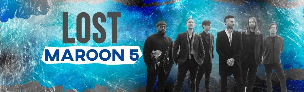 """""""Lost"""" é o novo clipe do Marron 5. Vem ver"""