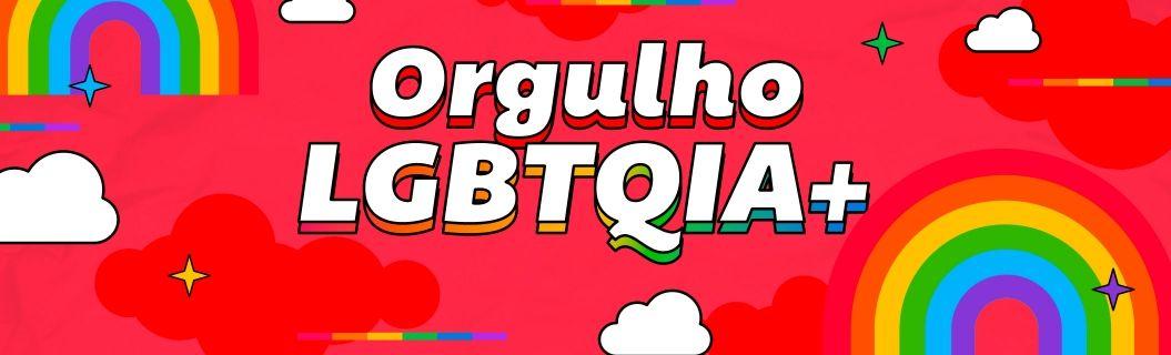 Uma playlist temática do mês do Orgulho LGBTQIA+. Vem ouvir