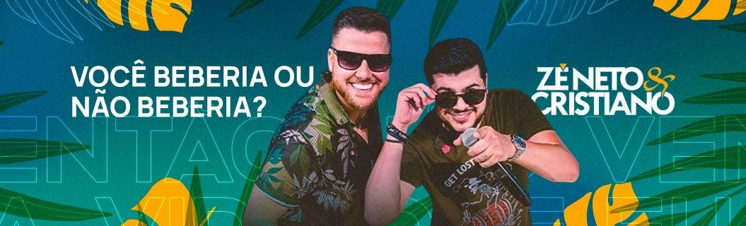 """Zé Neto e Cristiano lançaram """"Você Beberia ou Não Beberia"""". Vem ouvir"""