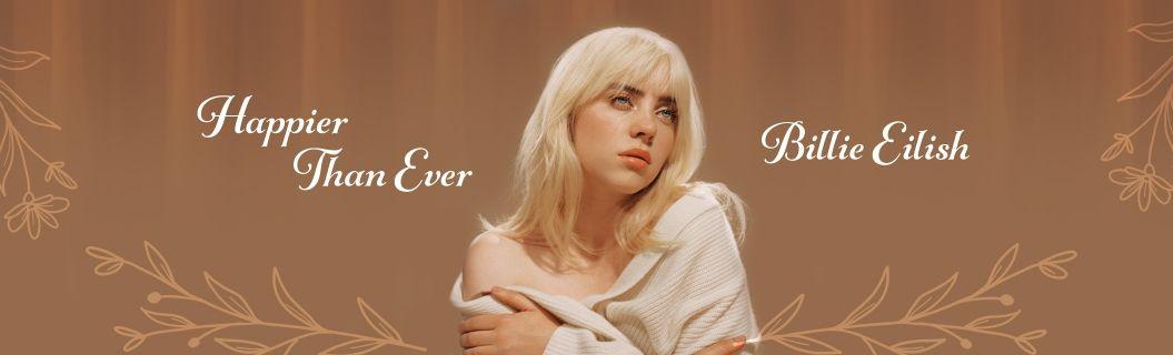 """Billie Eilish lançou o álbum """"Happier Than Ever"""". Vem ouvir"""