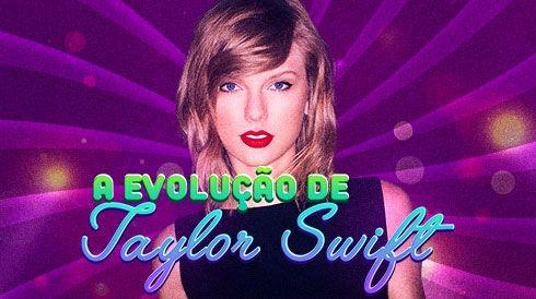A evolução de Taylor Swift