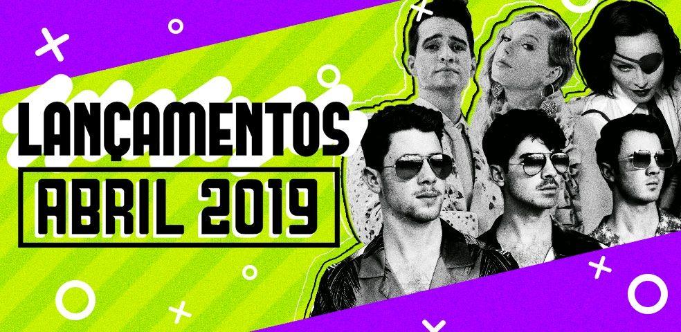 Lançamentos de abril 2019