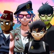 Gorillaz + The Strokes + Cage The Elephant