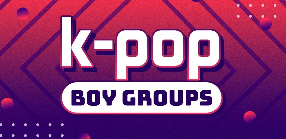 K-pop boy groups