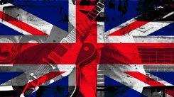 Rock inglês David Bowie, Oasis, The Who.