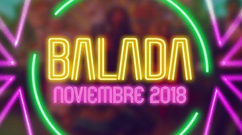 Balada noviembre 2018