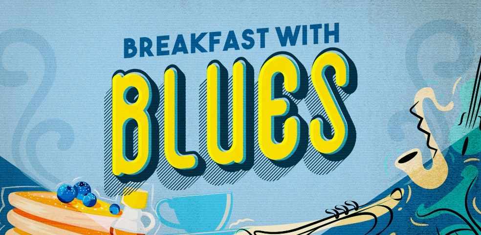 Breakfast with blues
