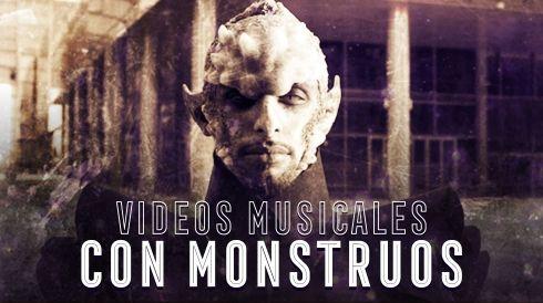Video musicales con monstruos