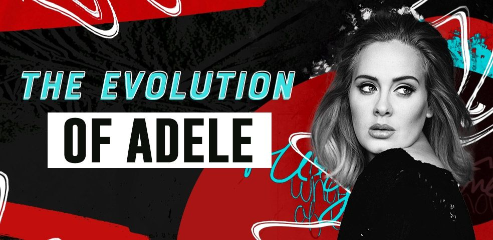The evolution of Adele