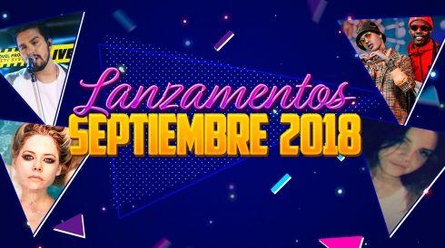 Lanzamentos septiembre 2018