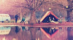 Música & acampamento