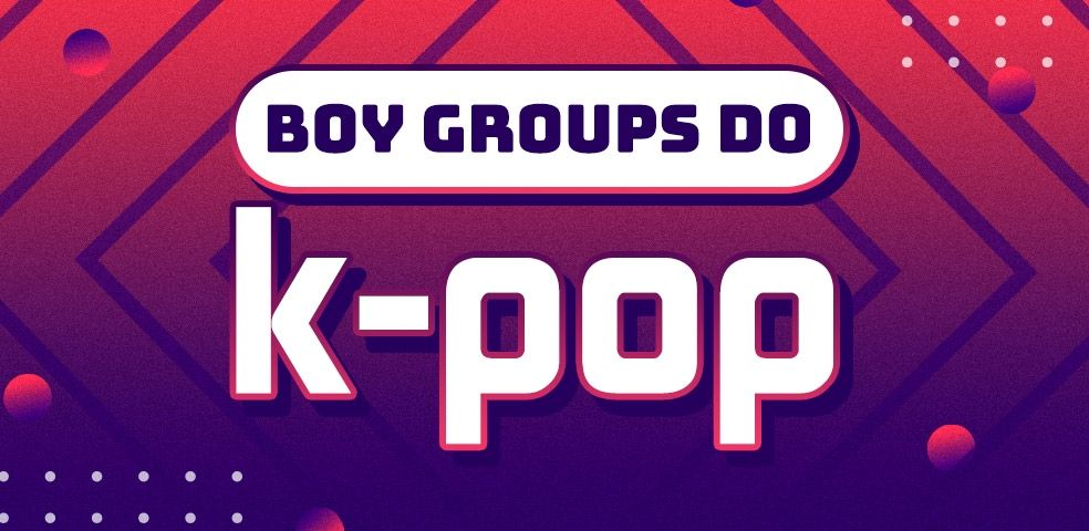 Boy groups do k-pop