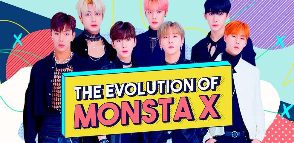 The evolution of Monsta X