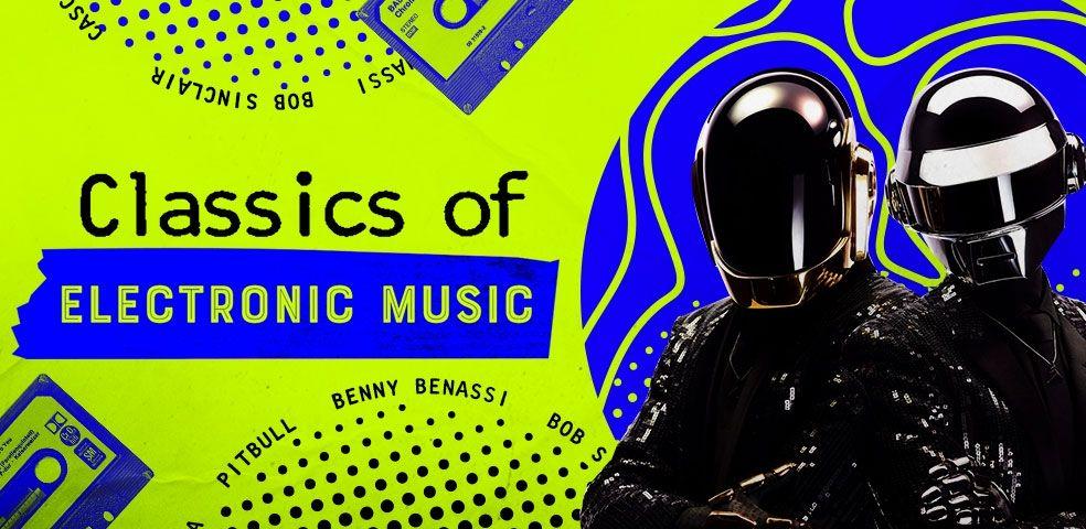 Classics of electronic music