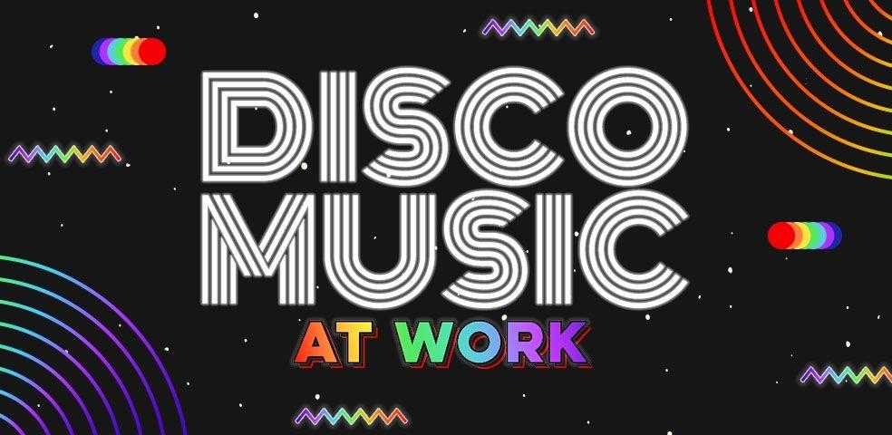 Disco music at work