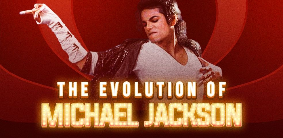 The evolution of Michael Jackson