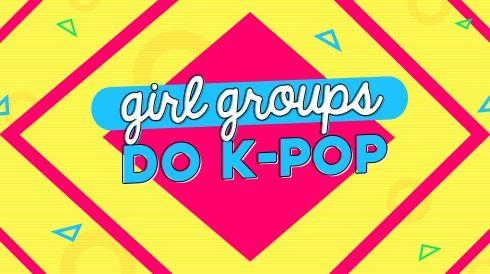 Girl groups do k-pop