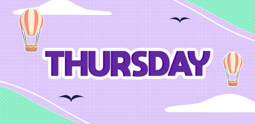 #Thursday