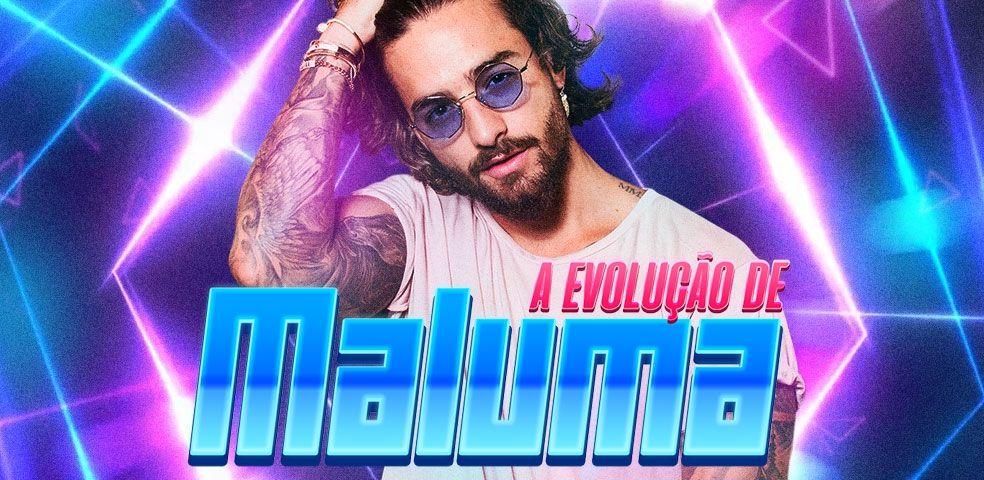 A evolução de Maluma