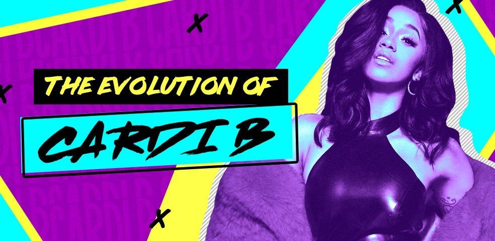 The evolution of Cardi B