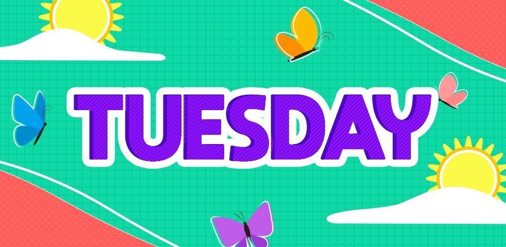 #Tuesday