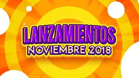 Lanzamientos de noviembre 2018