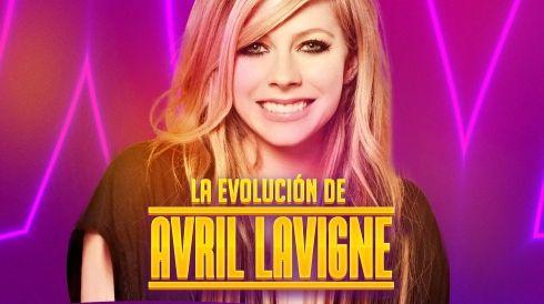 La evolución de Avril Lavigne