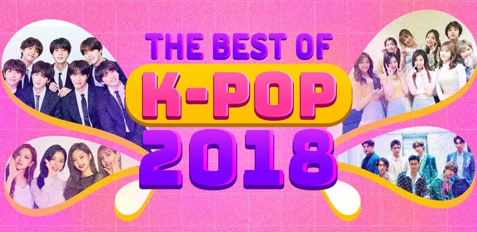 The best of k-pop 2018