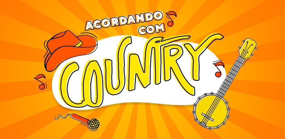 Acordando com country