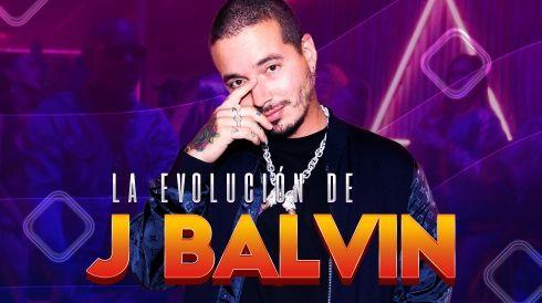 La evolución de J Balvin