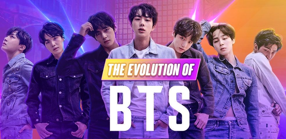 The evolution of BTS