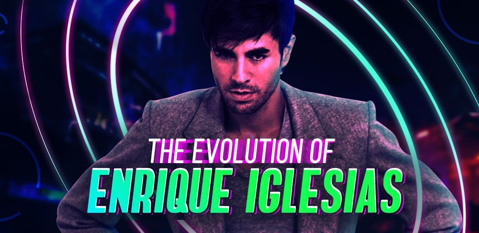 The evolution of Enrique Iglesias