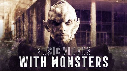 Music videos with monsters