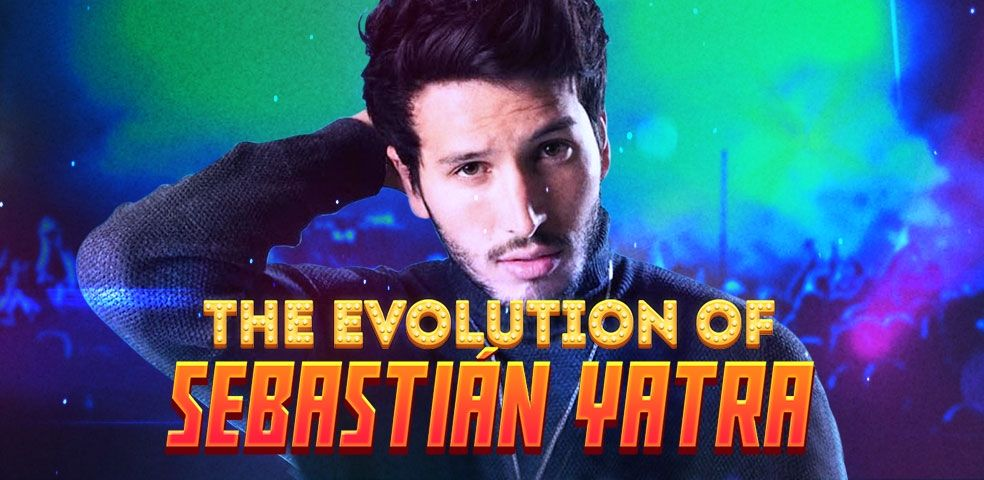 The evolution of Sebastián Yatra