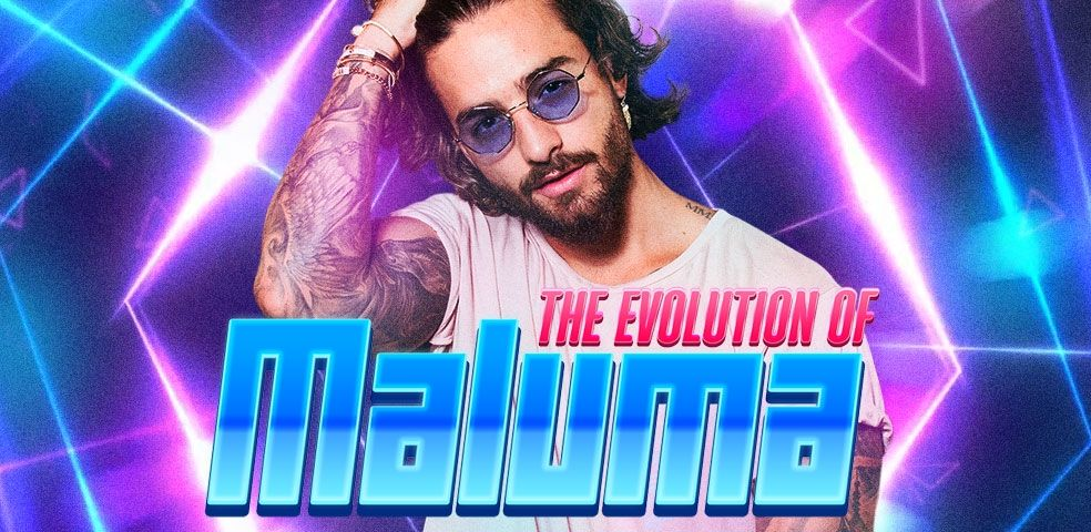 The evolution of Maluma