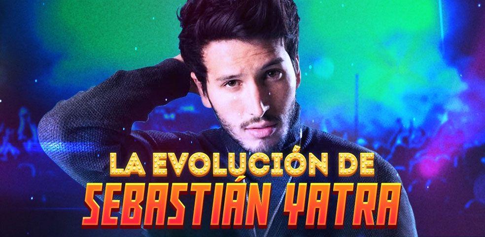 La evolución de Sebastián Yatra