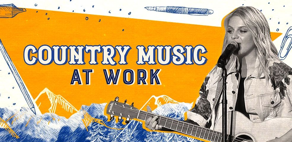 Country music at work