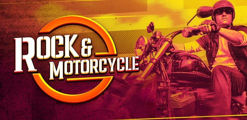 Rock & motorcycle
