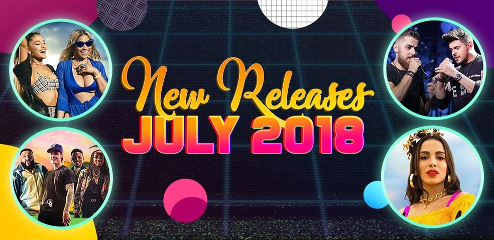 New releases: July 2018