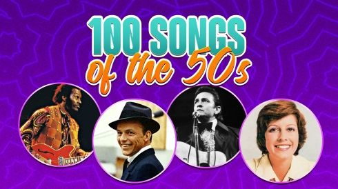 100 songs of the 50s