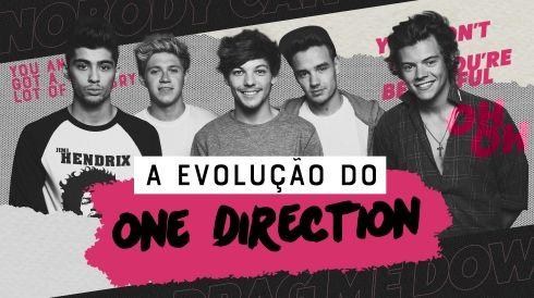 A evolução do One Direction