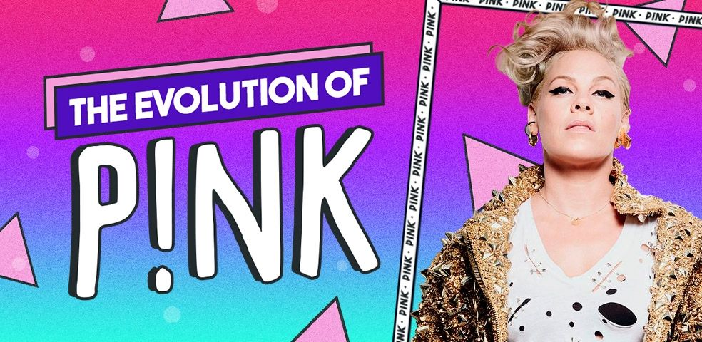 The evolution of P!nk