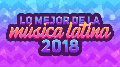 Lo mejor de la música latina 2018