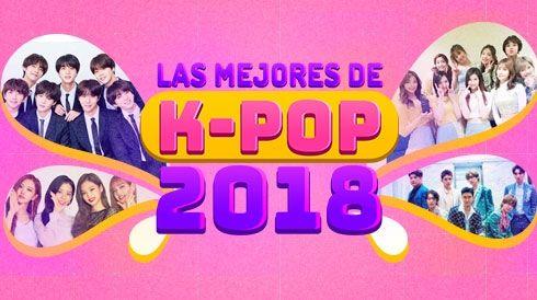 Las mejores de k-pop 2018
