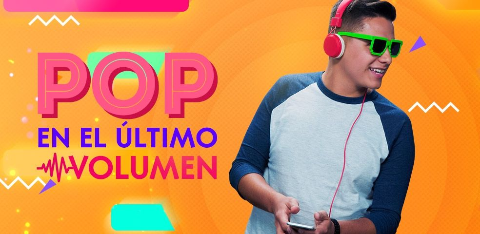 Pop en el último volumen
