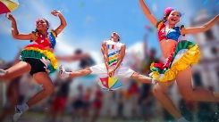 Carnaval em ritmo de frevo