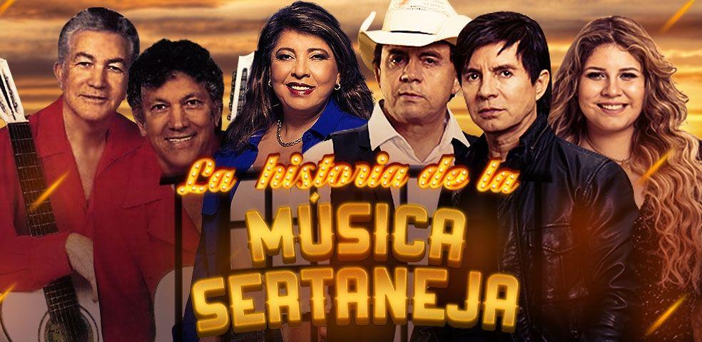 La história de la música sertaneja